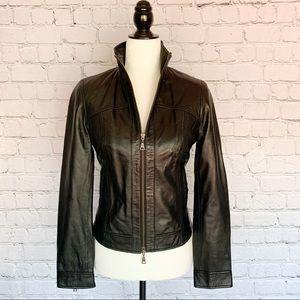 Danier Leather Jacket - BLACK